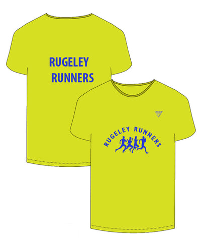 Rugeley Runners VIGA Ultra Cool Short Sleeve T-Shirt (Male & Female Sizes)