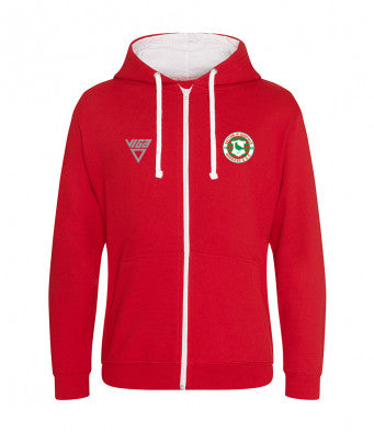 Sutton-in-Ashfield Harriers & A.C. Zipped Hoodie Unisex (Non Personalised)