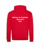 Sutton-in-Ashfield Harriers & A.C. Unisex Hoodie (Non Personalised)
