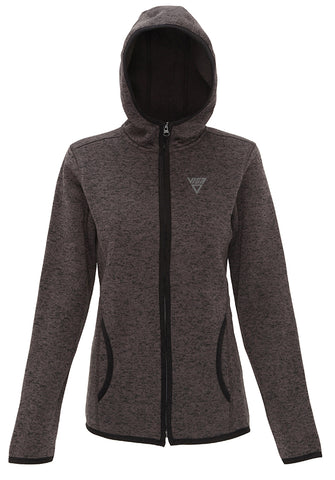 Women's Viga Melange Hooded Jacket