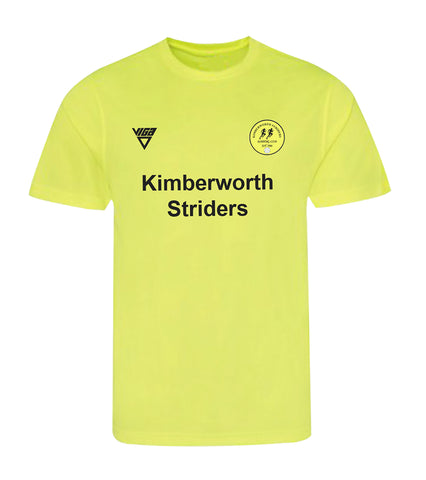 Kimberworth Striders Flo Yellow T-Shirt Male & Female Sizes