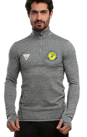 Danum Harriers Mens Half Zip Performance Top