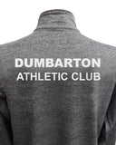 Dumbarton AC Mens Long Sleeve Zip Neck Performance Top