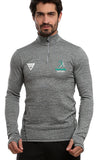 Huncote Harriers Men's Zip Neck Performance Top