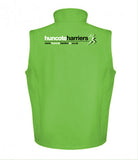 Huncote Harriers Soft Shell Gilet (Male & Female sizes)