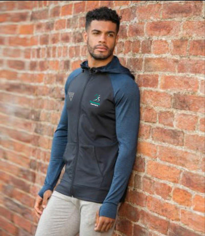 Huncote Harriers Men's Cool Contrast Hoodie (Best Seller)