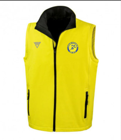 Danum Harriers Soft Shell Gilet (Male & Female)