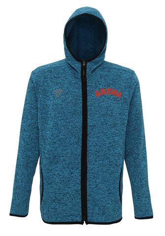 Men's Viga Arena Melange Hooded Jacket