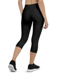 WWW Plain Sportive Stretch Capri