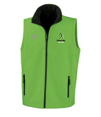 Huncote Harries Soft Shell Gilet (Male & Female)