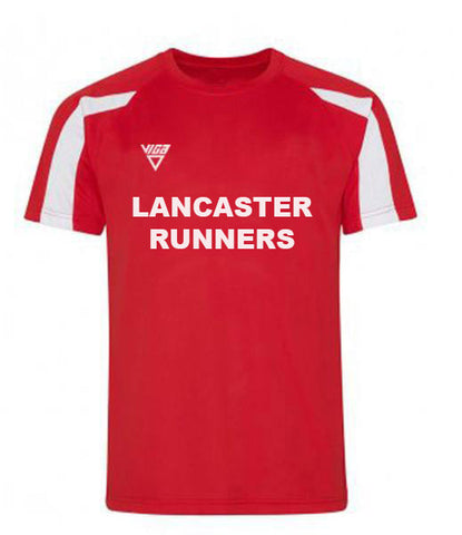 Lancaster Runners Mens Contrast Wicking T-Shirt