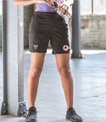 Dumbarton AC Ladies Microfibre Shorts