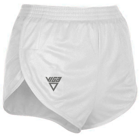 White Men's Pacer Shorts