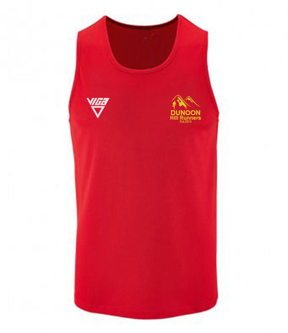 Dunoon Hill Runners Mens Wicking Vest