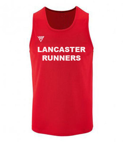 Lancaster Runners Mens Wicking Vest