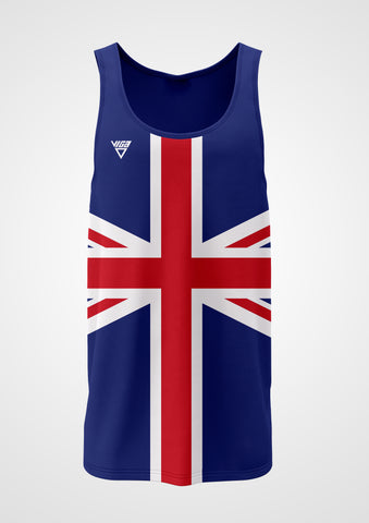 Union Jack Running Vest Mens & Ladies Sizes
