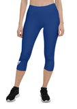 Plain Sportive Stretch Capri