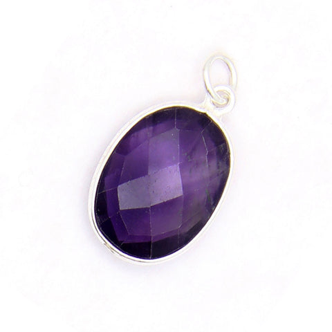 Amethyst Charms Silver, jenny present®, design your own jewelry