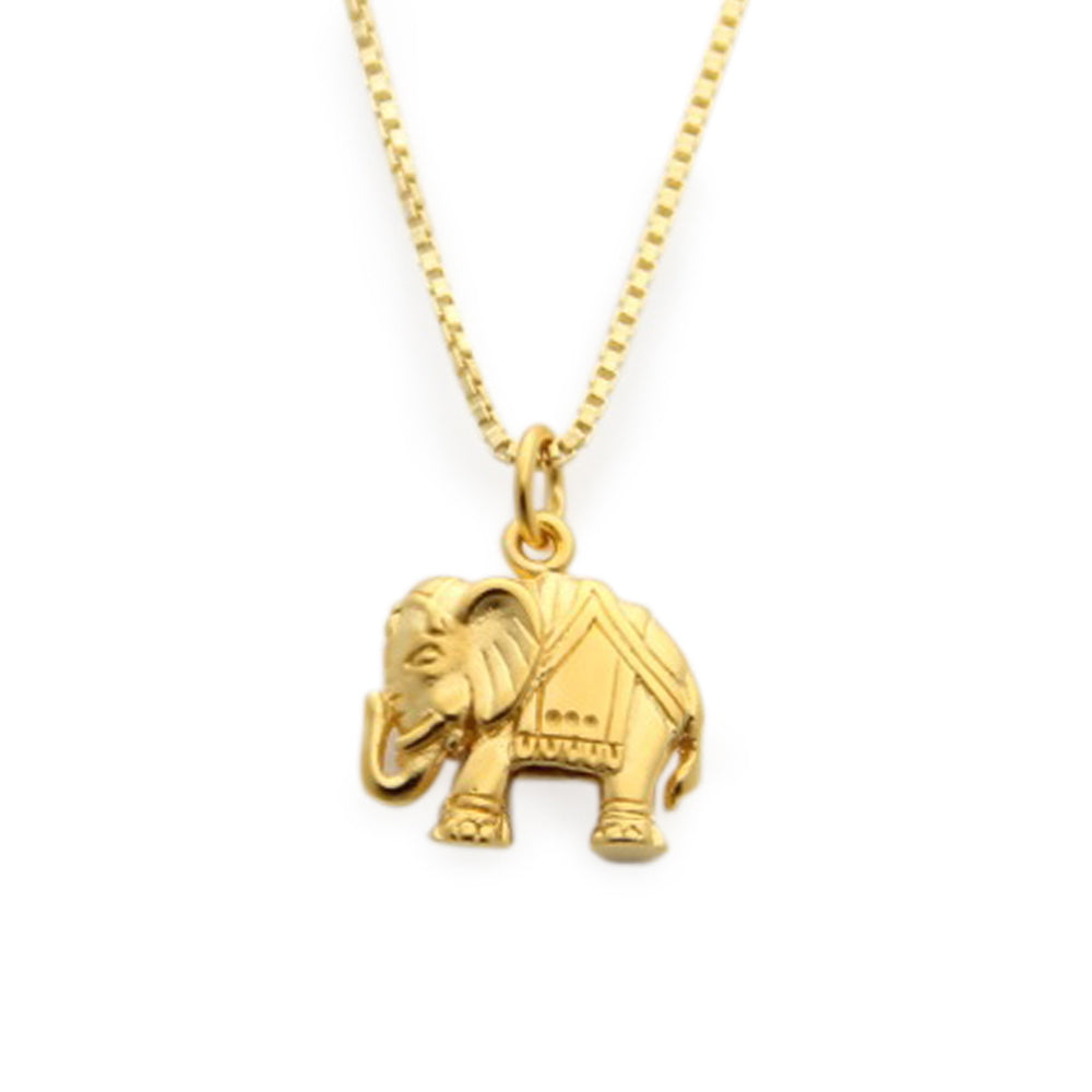 Lucky gold elephant charm necklace elephant jewelry lucky charm elephant jewelry luck gold elephant elephant necklace gold rated 1 jewelry aloadofball Gallery