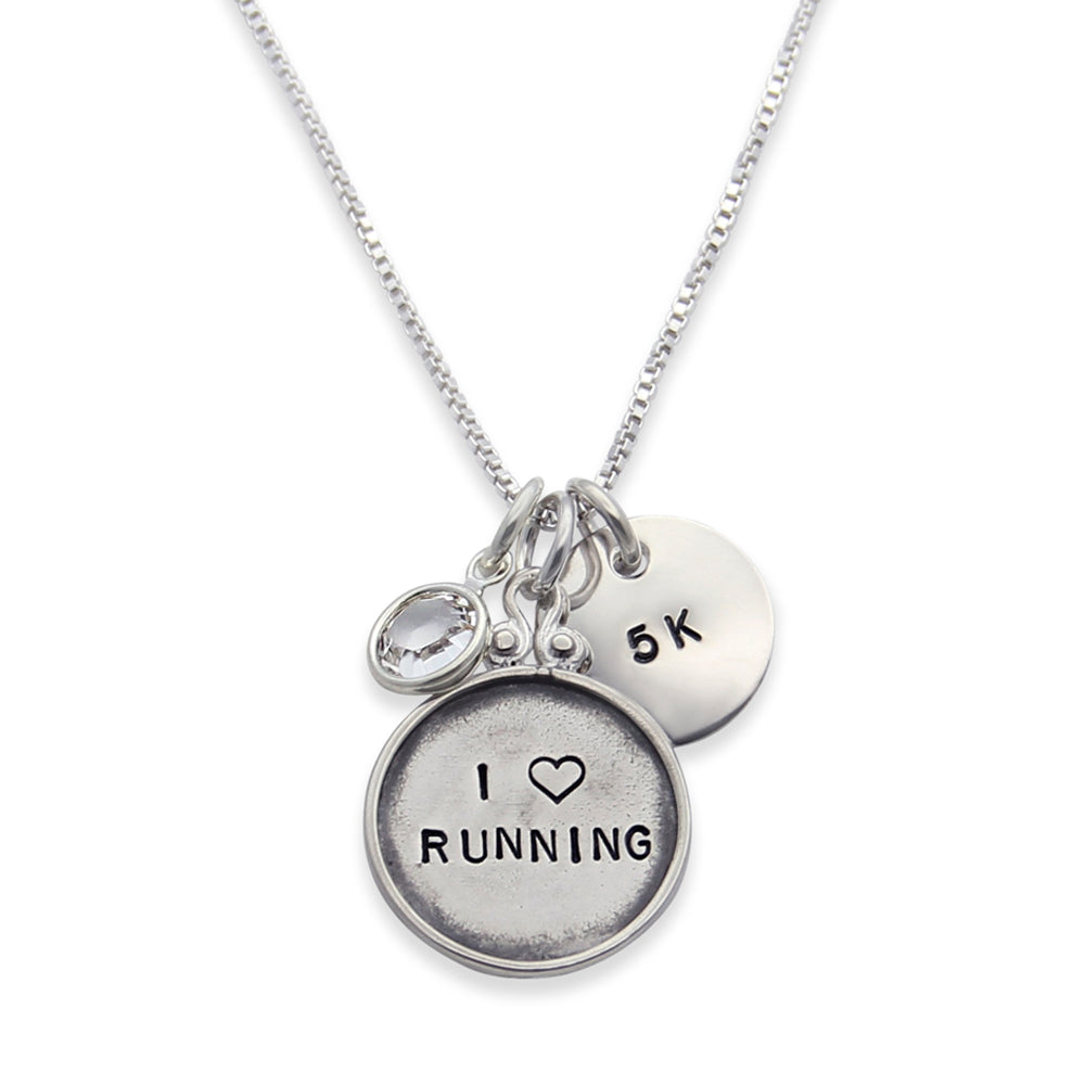 hand stamped sterling silver mothers necklace, personalized name necklace, design your own, proud mama®, jenny present®