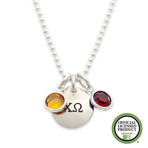 Chi Omega Necklace, Sorority Jewelry, Official Licensed Product, jenny present®