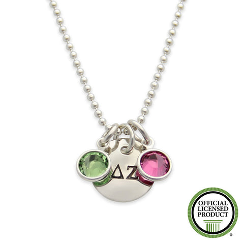 Delta Zeta Necklace, Sorority Jewelry, Official Licensed Product, jenny present®