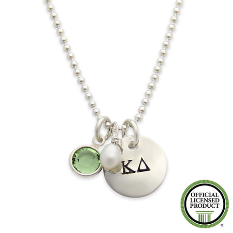 Kappa Delta Necklace, Sorority Jewelry, Official Licensed Product