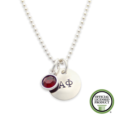 Alpha Phi Necklace, Sorority Jewelry Gifts, Official Licensed Product, jenny present®