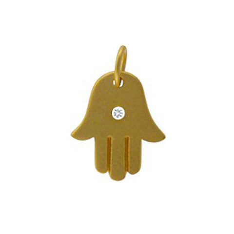 gold hamsa charm, evil eye jewelry, design your own necklace jewelry, jenny present®
