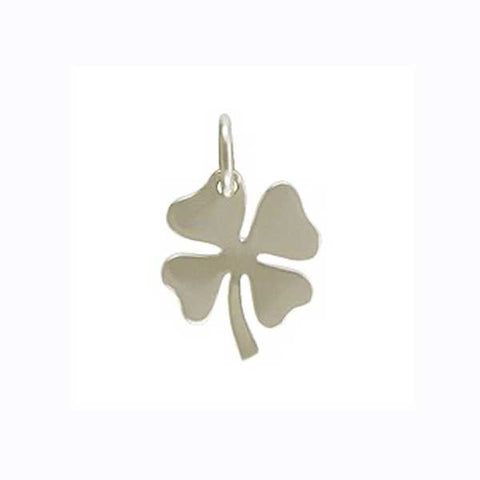 sterling silver lucky clover charm, clover charm, lucky pendant, personalized charm necklace, jenny present®
