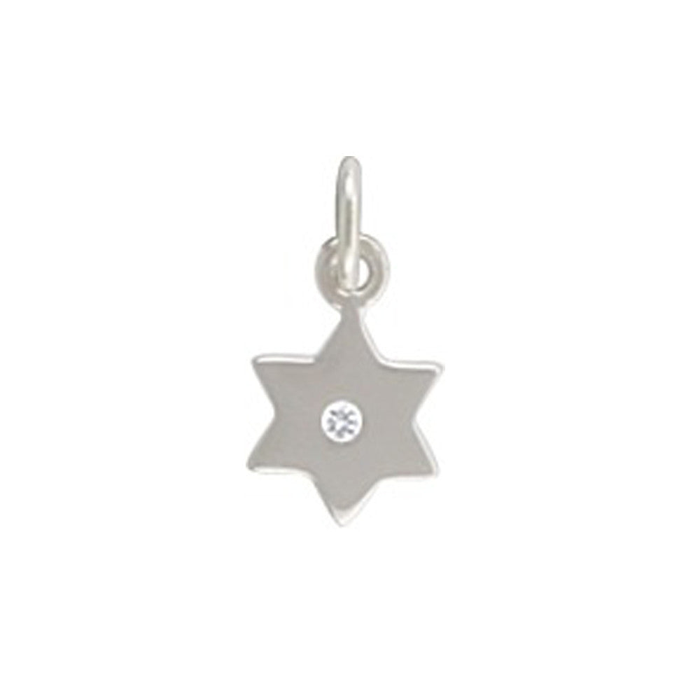 star of david, sterling silver, jewish star pendant, design your own personalized jewelry, jenny present®