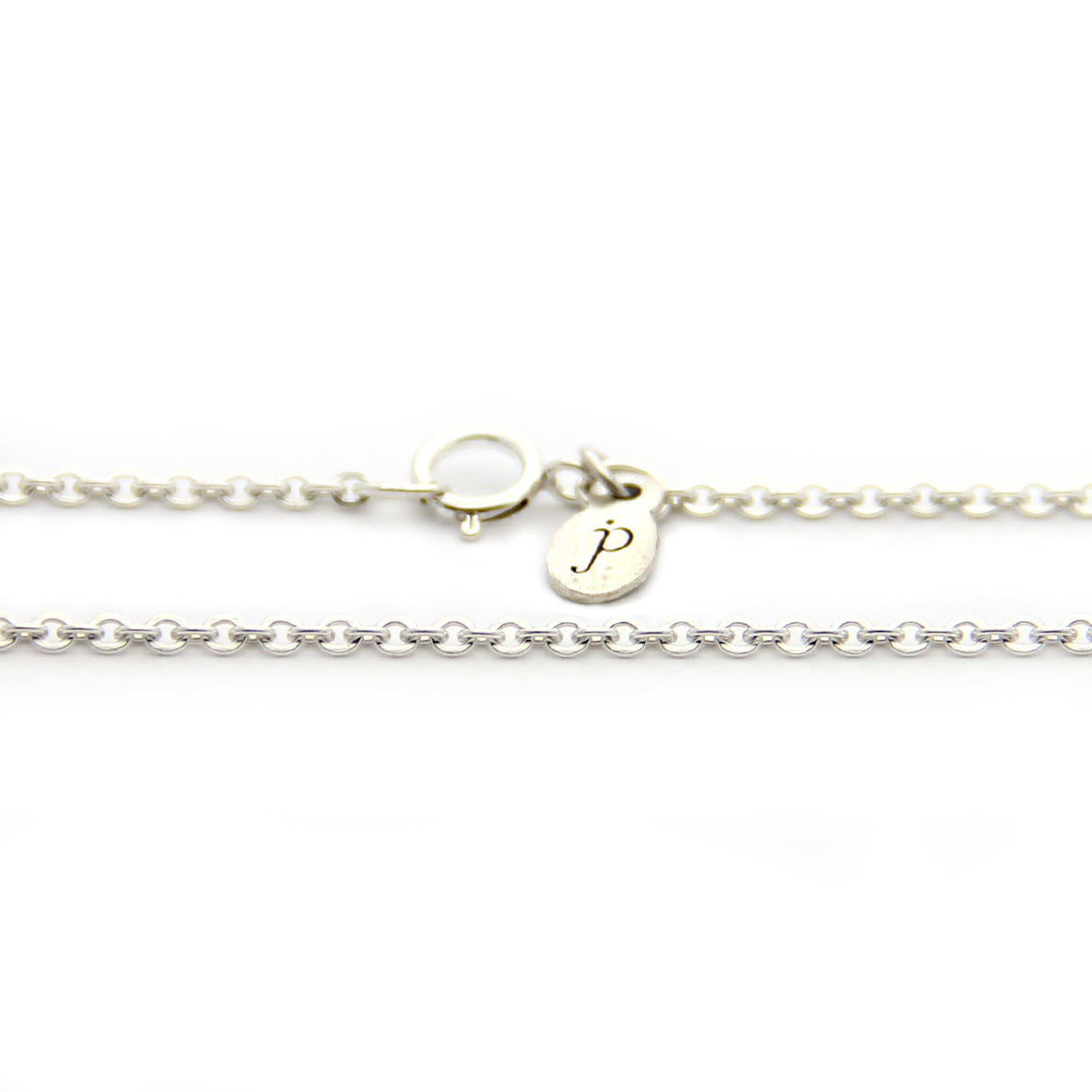 silver cable chain necklace, silver necklace add on, design your own jewelry, jenny present®