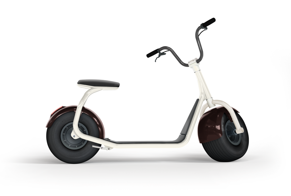 electric scooter SCROOSER Foam White PURE