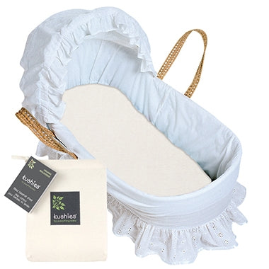 Kushies Organic Jersey Bassinet Sheet