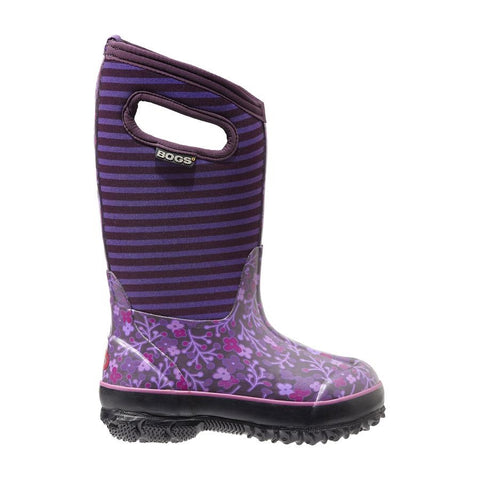 Bogs Classic Flower Stripe Purple - 71560 540
