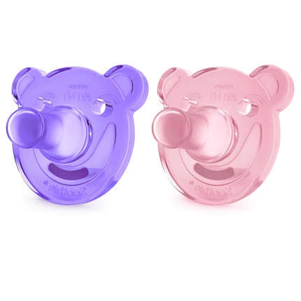 Avent Soothie Bear Shape (0-3m)
