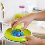 Boon Forb Mini Silicone Dish Brush