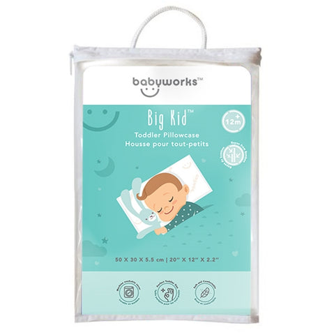 Baby Works Bamboo Pillowcase for Toddler Pillow