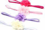 Babies and Bows Mini Chiffon Flower Headband - Kimberly