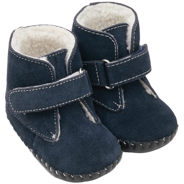 pediped Originals Henry Navy Leather Boot