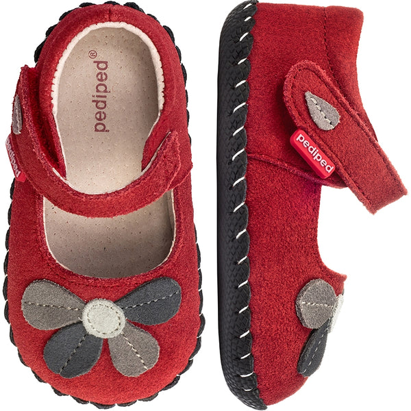 pediped Originals Brittany Red Mary Jane