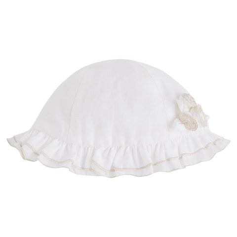 Mayoral Voile Hat, Natural