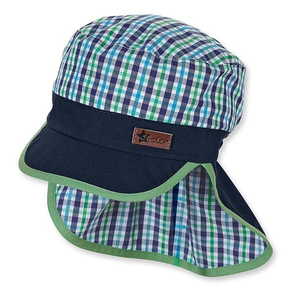 Sterntaler Boys Cap w/Neck Protection