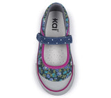 See Kai Run Toddler Shoes Marie - Navy/Berry