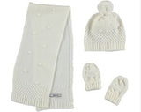 Mayoral Hat, Scarf and Mittens Set - 10.025