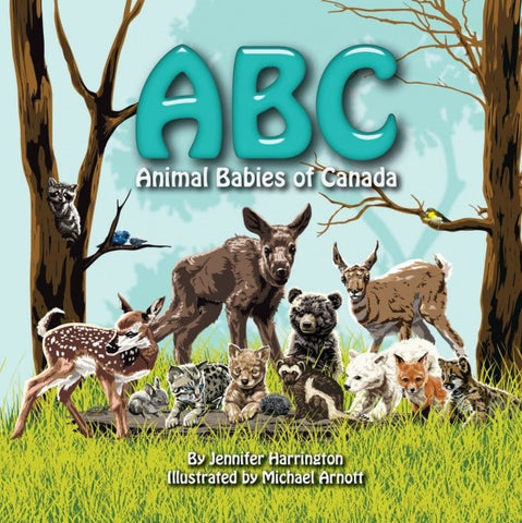 ABC - Animal Babies of Canada Book