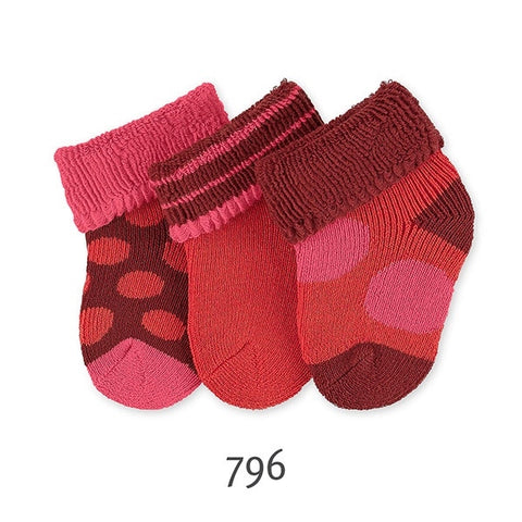 Sterntaler Newborn socks - Pack of 3 pairs