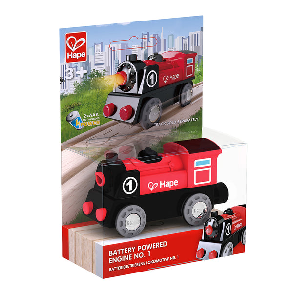 Hape Rail Electric Battery Engine