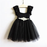 Babies and Bows Tiffany Tulle Sleeveless Dress