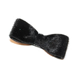 Babies and Bows Fur Hair Clip - Bella
